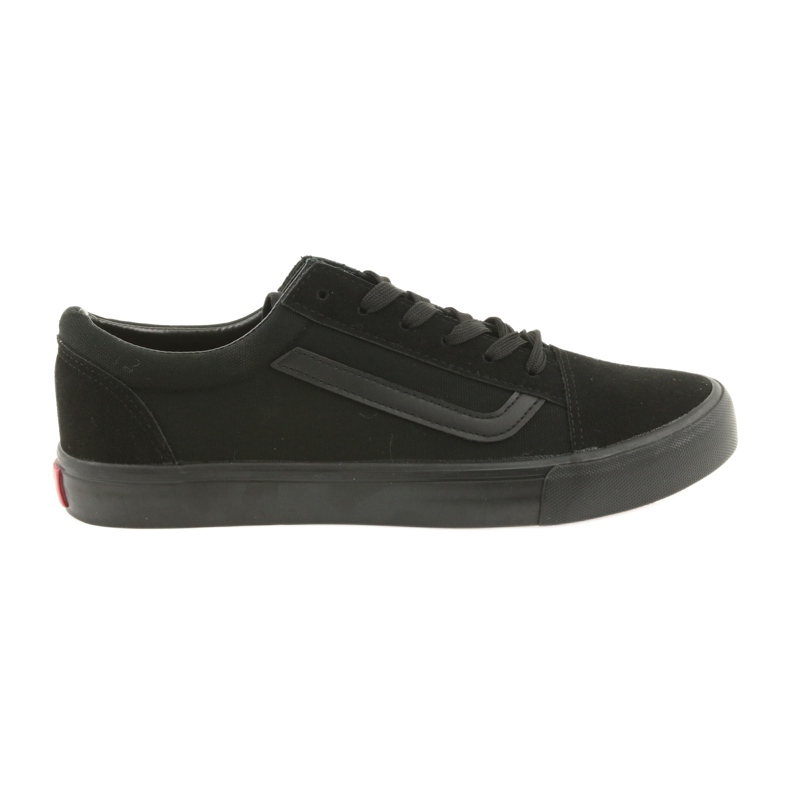 Atletico AlaVans black tied sneakers