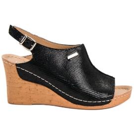 Filippo Light Sandals On Wedge black