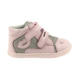 Shoes Velcro Bartek 11703 grey pink