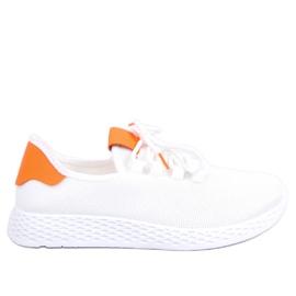 Sports shoes white and orange NB281 Orange