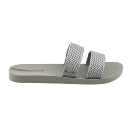 Grey Ipanema Women's slippers 26223 silver