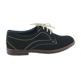 Boys' shoes Gregors 429 navy blue