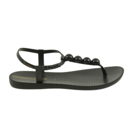 Ipanema sandals women's shoes flip-flops with balls 82517 black