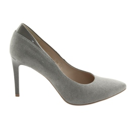 Pumps on a stiletto ANIS women's shoes gray grey