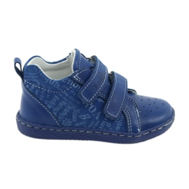 Blue Children's medical shoes with velcro Ren But 1429