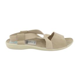 Brown Sandals for women Adanex 17495 beige