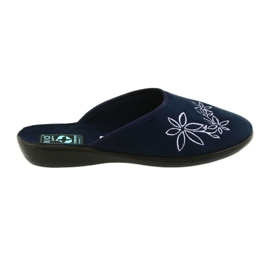 Navy Women's slippers Adanex 23931 slippers