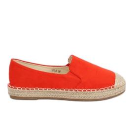 Espadrilles, women's orange 180-5 Orange