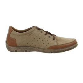 Men's shoes Badura 3524 beige / brown