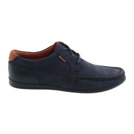 Badura Badge loafed 3175 navy blue