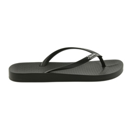 Women's black flip flops Ipanema 82591