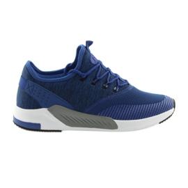 Men's sports shoes DK 18470 blue
