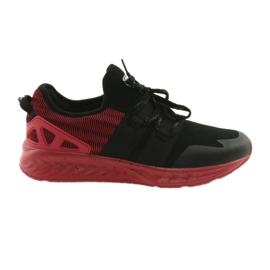Men's sports shoes DK 18332 black / red