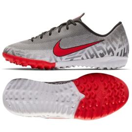 Nike Mercurial Vapor 12 Academy Football Shoes Neymar Tf Jr AO9476-170 grey grey