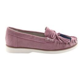 Comfortable Filippo 641 ladies loafers pink