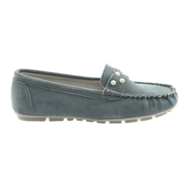 Filippo gray women's moccasins shoes grey