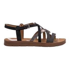 Filippo black Casual Sandals