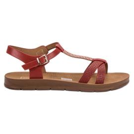 Filippo Classic Red Sandals