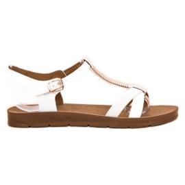 Filippo Classic White Sandals