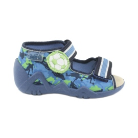 Befado yellow children's shoes 350P002
