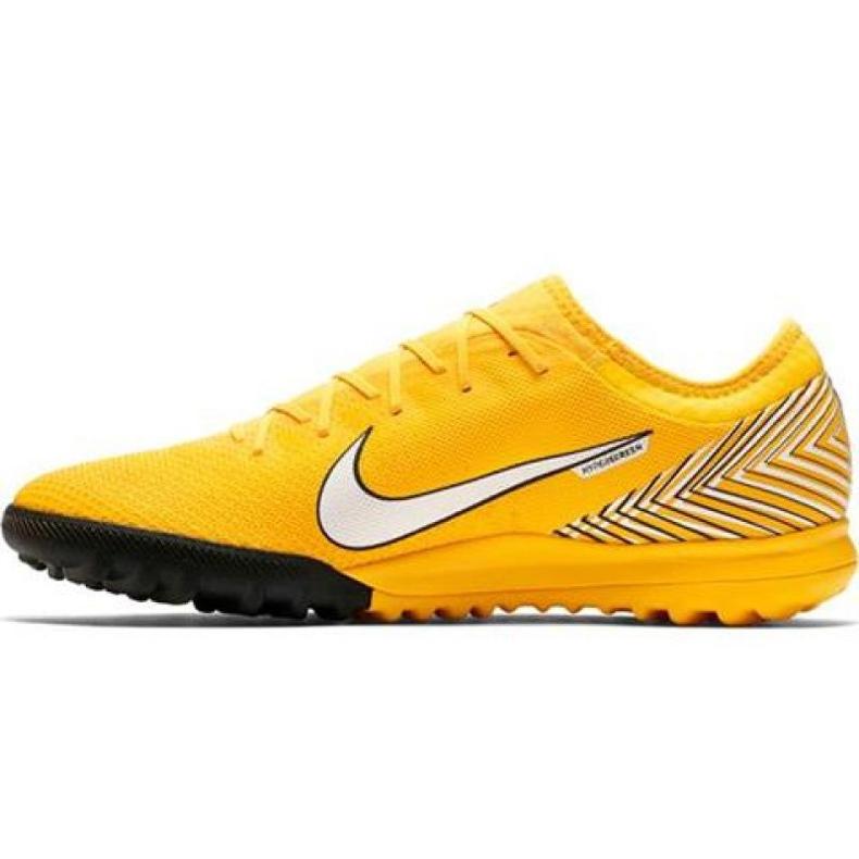 Nike Mercurial Vapor 12 Pro Neymar Tf AO4703-710 Football Boots yellow yellow