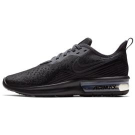 Black Shoes Nike Air Max Sequent 4 W AO4486-002