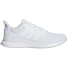 Running shoes adidas Runfalcon M F36211 white