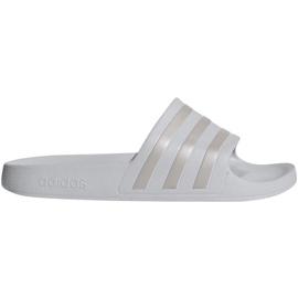 Grey Adidas Adilette Aqua F35531 slippers