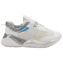 Slip-on VICES Sports Shoes white