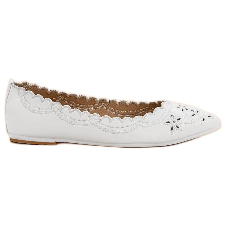 Ballerina In Spitz VICES white