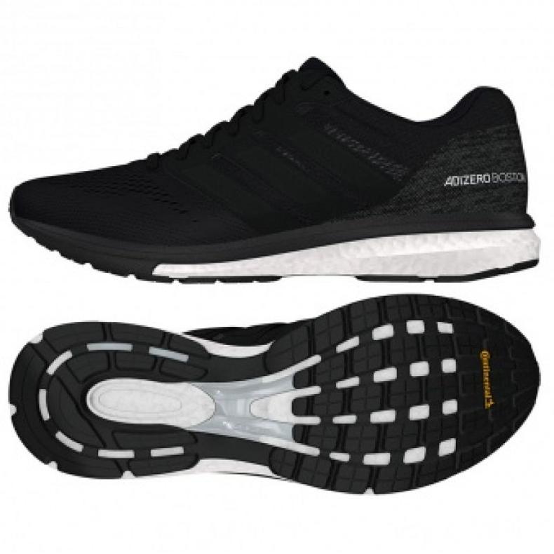 Running shoes adidas adizero Boston 7 M B37382 black