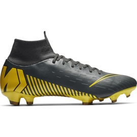 Football shoes Nike Mercurial Superfly 6 Pro Fg M AH7368-070 grey black