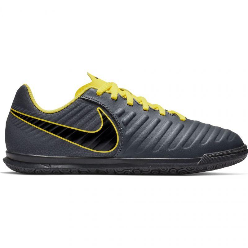 Indoor shoes Nike Tiempo Legend 7 Club Ic Jr AH7260-070 grey black