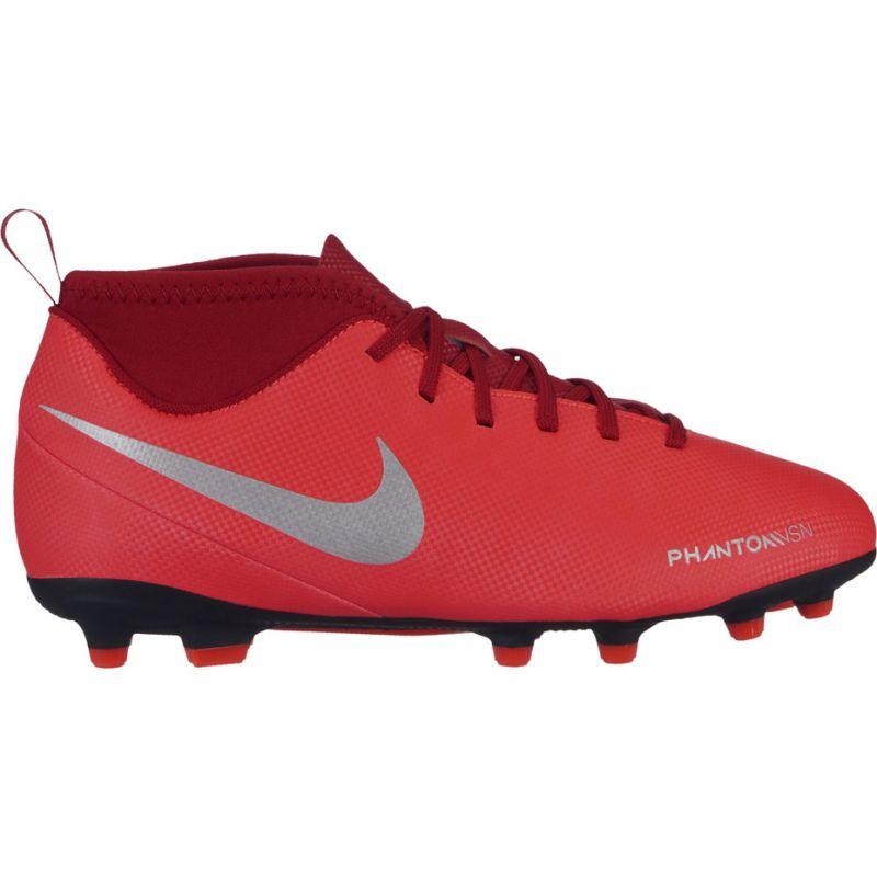 The Nike Phantom Vsn Club Df Fg Mg Jr