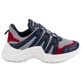 Kylie Comfortable Sport Shoes blue