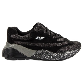 Sport Shoes With Brocade VICES black