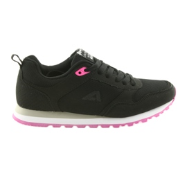 American Club WT26 Black sports shoes