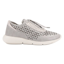 Aclys grey Light Sport Shoes