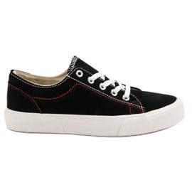 Kylie Black Sneakers