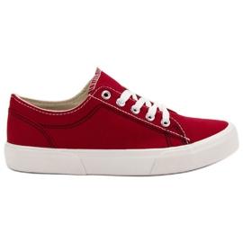Kylie Red sneakers