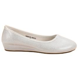 Vinceza Comfortable Ballerina grey