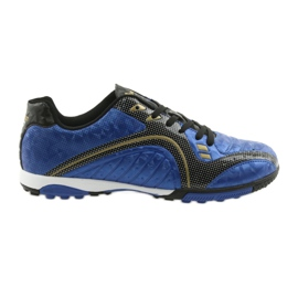 Sports turf on the American Club OG25 royal blue