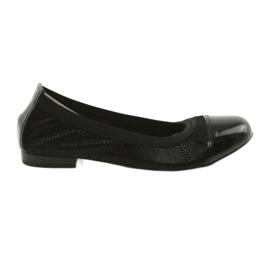 Ballerinki women's eraser Gamis 1402 black