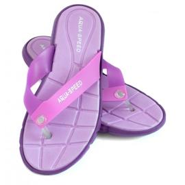 Violet Slippers Aqua-Speed Bali purple 09 479