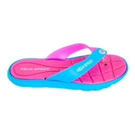 Slippers Aqua-Speed Bali pink-blue 03 479