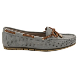 Kylie Comfortable moccasins grey