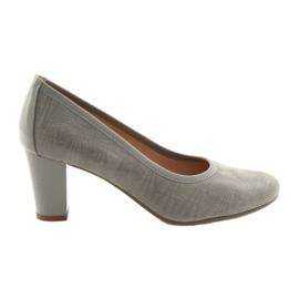 Women's shoes elastic sole Arka 5137 gray grey