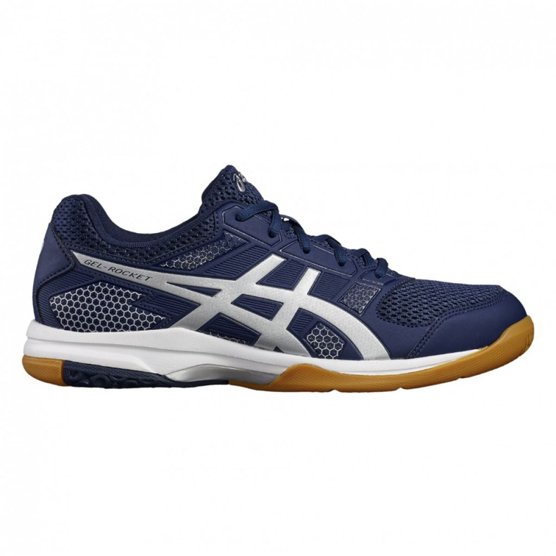 Volleyball shoes Asics Gel Rocket 8 M B706Y-4993 navy navy blue