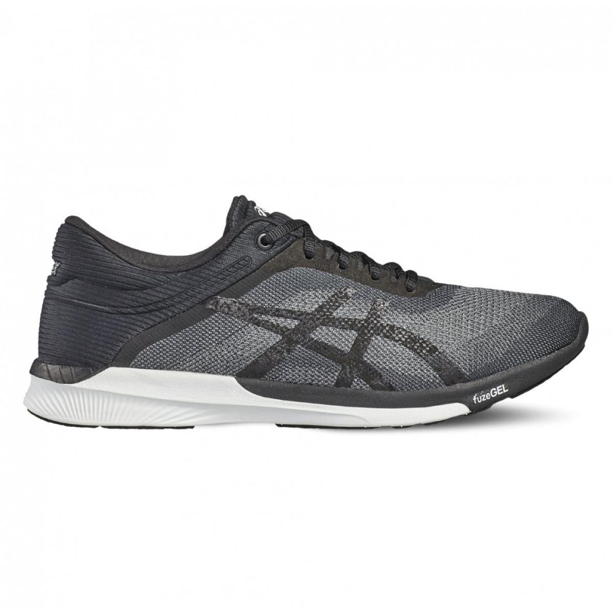 Running shoes Asics fuzeX Rush W T768N-9690 black - KeeShoes