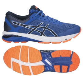Running shoes Asics Gt 1000 6 M T7A4N-4549 navy